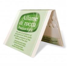 Кровоспинні сірники Allume di Rocca загоюючі (алуніт) 20 шт
