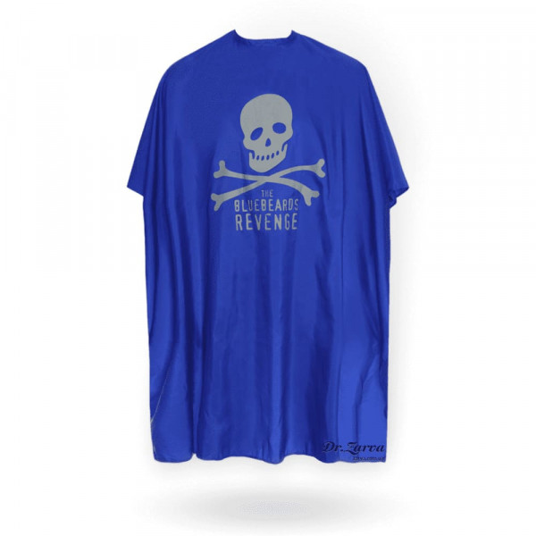 Накидка барбера The Bluebeards Revenge BLUE BARBER CAPE