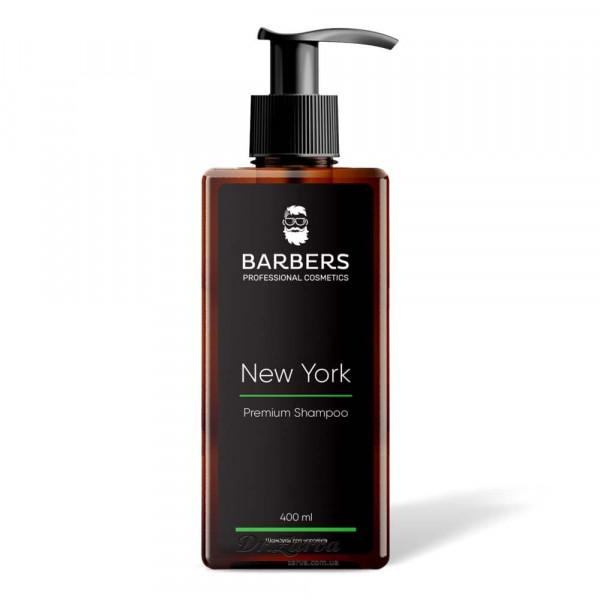 Шампунь Barbers NEW YORK тонізуючий 400 мл