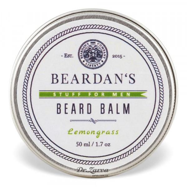 Бальзам для бороды Beardan's LEMONGRASS 50 мл