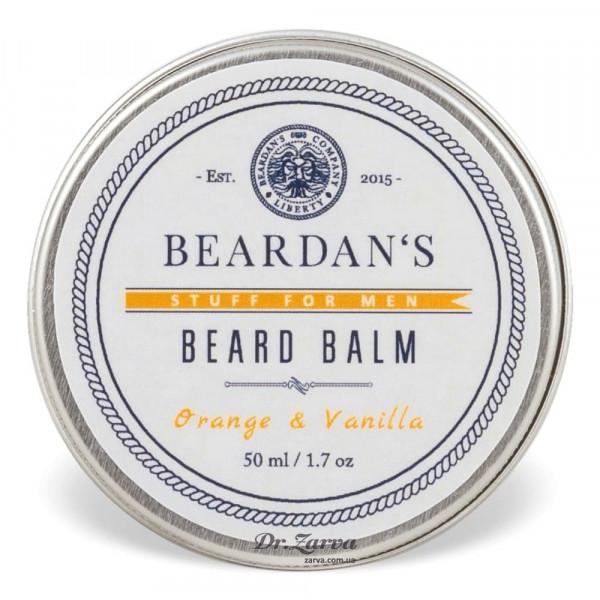 Бальзам для бороды Beardan's ORANGE & VANILLA 50  мл