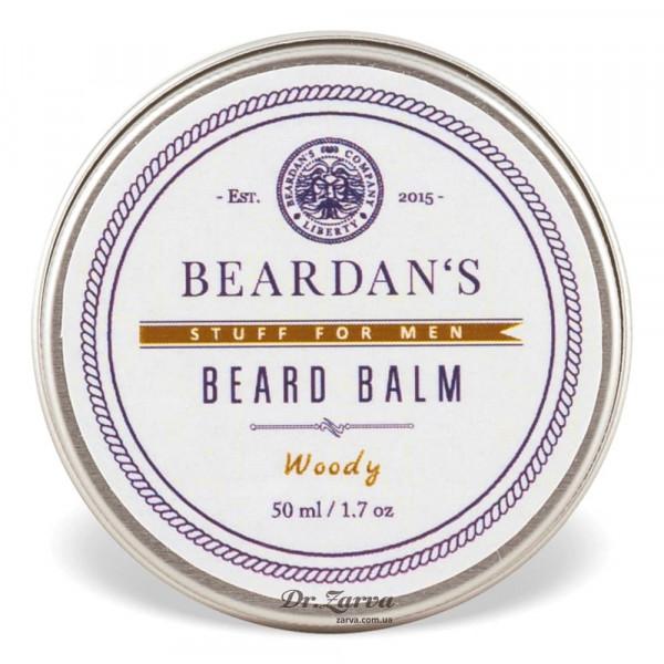 Бальзам для бороды Beardan's WOODY 50 мл