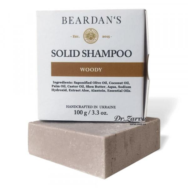 Твердый шампунь Beardan's Solid Shampoo WOODY