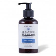 Гидрофильное масло для бороды очищающее Beardan's EASY BREEZY 200 мл