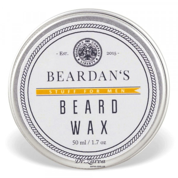 Воск для бороды Beardan's ORANGE & VANILLA 50 мл