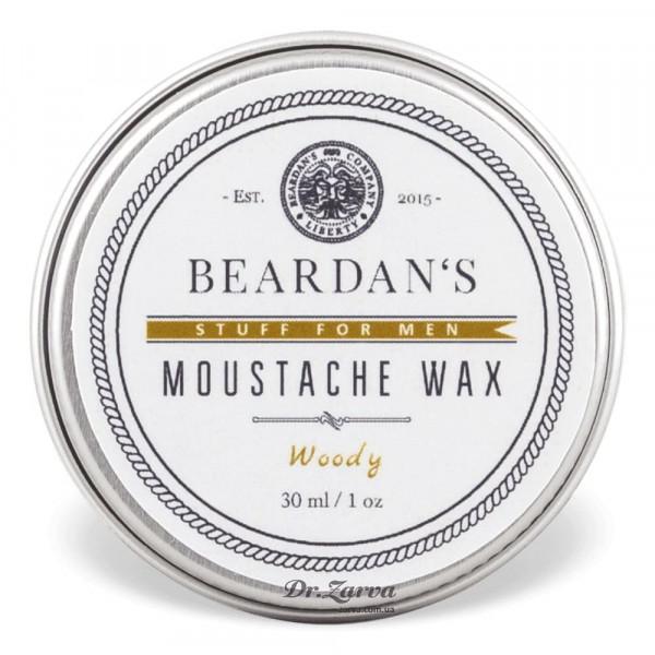 Воск для усов Beardan's WOODY 30 мл