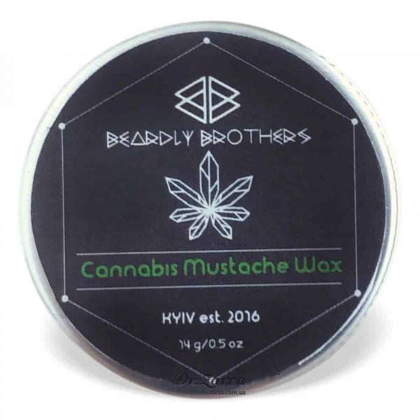 Віск для вусів Beardly Brothers CANNABIS 14 мл
