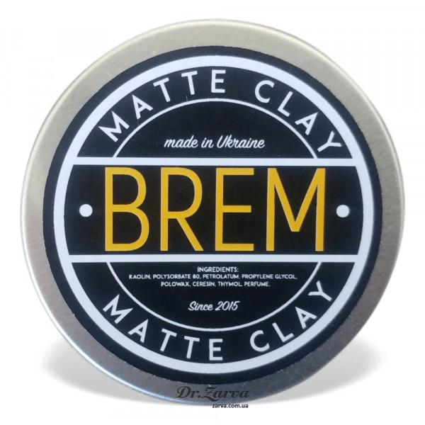 Глина для укладки волос Brem MATTE CLAY 50 мл