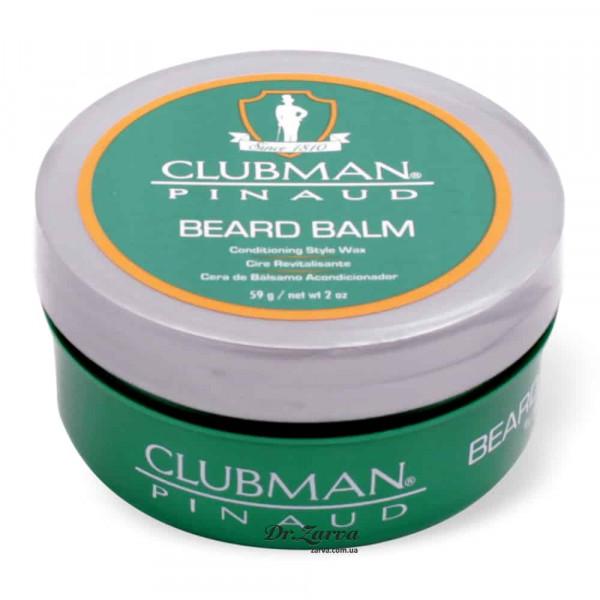 Бальзам для бороды Clubman Pinaud BEARD BALM & STYLING WAX 59 г