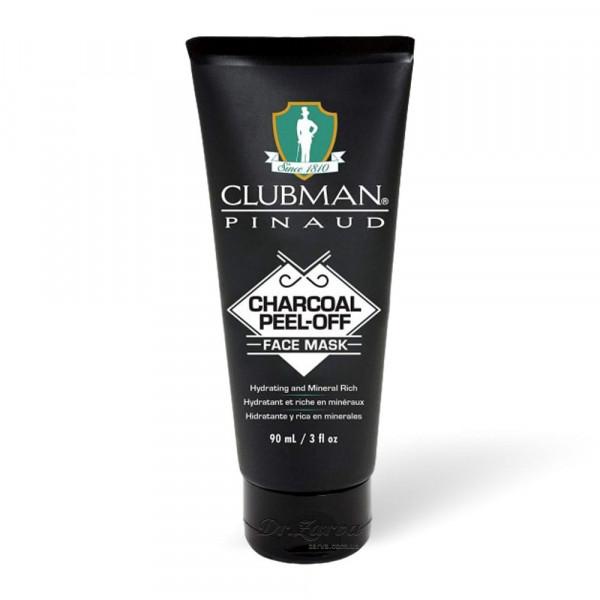 Черная маска для лица Clubman Pinaud CHARCOAL PEEL-OFF FACE MASK 90 мл