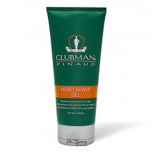 Гель для бритья Clubman Head Shave Gel прозрачный 177 мл