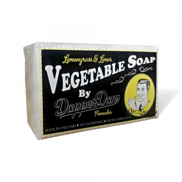 Мыло Dapper Dan VEGETABLE SOAP Lemongrass and Limes 190 г