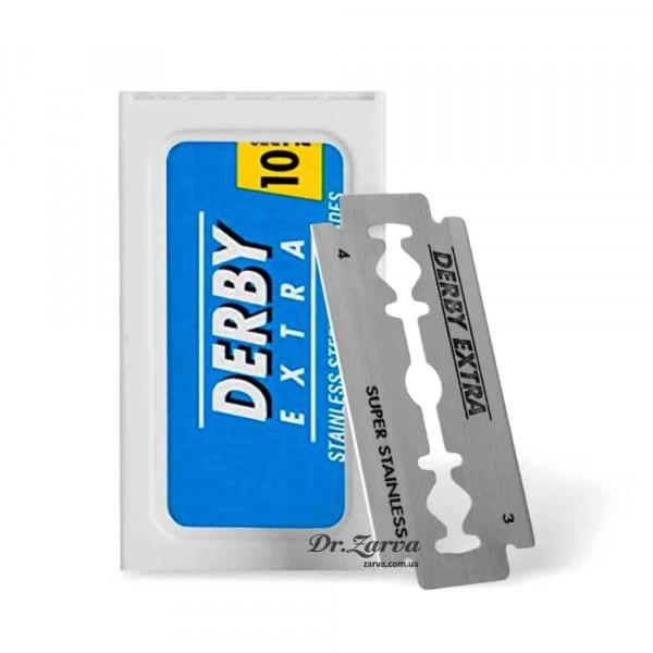 Лезвия Derby EXTRA Blue 10 шт