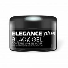 Гель-помада для укладки волос Elegance Plus BLACK GEL & COLOR 100 мл