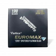 Лезвия для опасных бритв (шаветт) Euromax CRYO PLATINUM половинки 100 шт