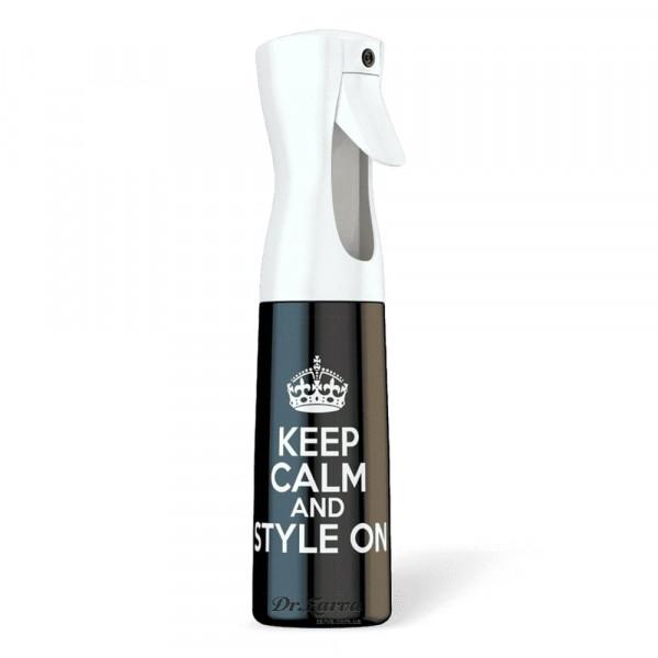Распылитель для воды Stylist Spray Bottle KEEP CALM AND STYLE 300 мл