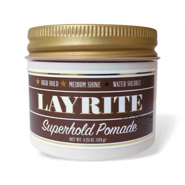 Помада для укладання волос Layrite SUPER HOLD Pomade 120 мл