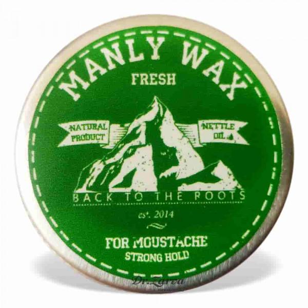 Воск для усов Manly Wax FRESH 15 мл