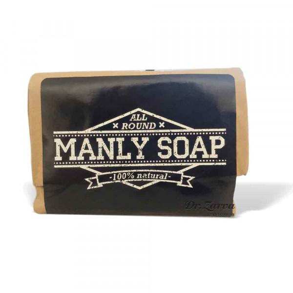 Мыло натуральное Лавровое Manly SOAP 90 г