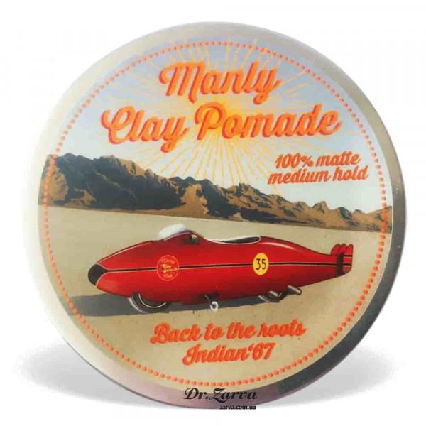Глина для укладки волос Manly Clay Pomade INDIAN 100 мл