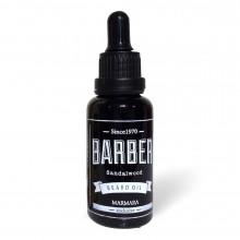 Масло для бороды Marmara Barber Beard Oil SANDALWOOD 30 мл