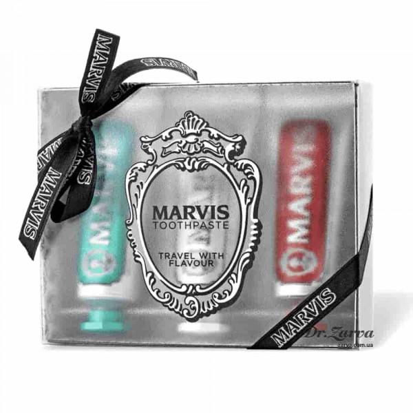 Набор зубных паст Marvis Flavour Gift Set 3 х 25 мл