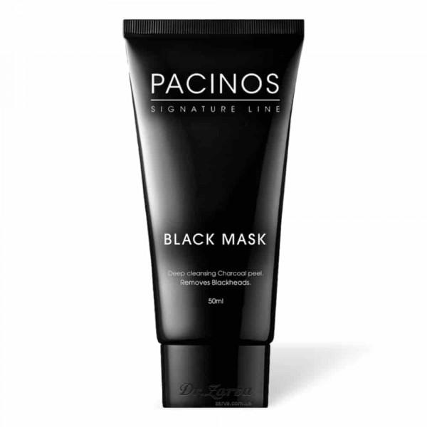Черная маска для лица Pacinos BLACK MASK 50 мл