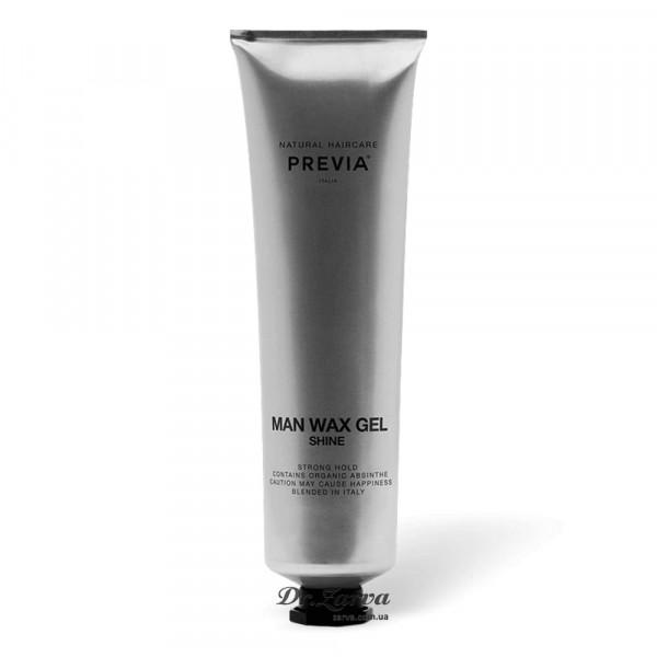 Гель віск для укладання волосся Previa MAN WAX GEL 100 мл