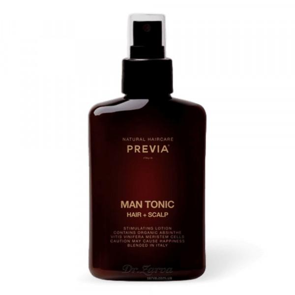 Тоник для волос и кожи головы Previa MAN TONIC HAIR + SCALP 150 мл