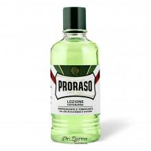 Лосьон после бритья Proraso After Shave Lotion GREEN (Refresh) 400 мл
