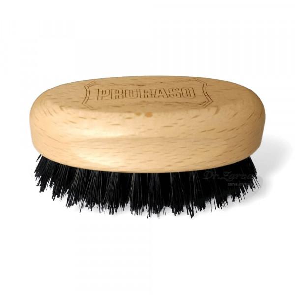 Щітка для вусів і бороди Proraso Old Style MILITARY BRUSH MINI
