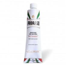 Крем для гоління Proraso для чутливої шкіри WHITE LINE SHAVING 150 мл