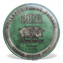 Помада для укладки волос Reuzel GREEN Medium Hold Grease 113 мл