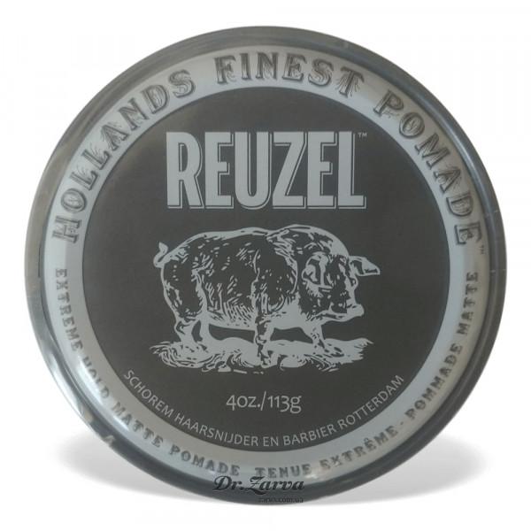 Помада для укладки волос Reuzel MATTE Pomade Extreme Hold 113 мл