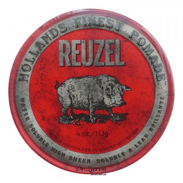 Помада для укладки волос Reuzel RED High Sheen Pomade 113 мл