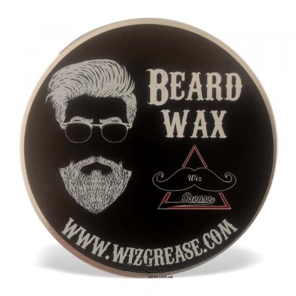 Віск для бороди WizGrease Strong Hold BEARD WAX 60 мл