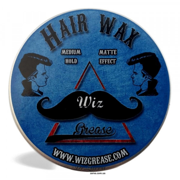 Віск для укладання волосся WizGrease HAIR POMADE 100 мл