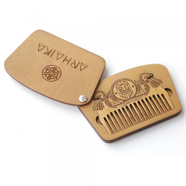 Гребень для бороды Arhaika ODIN Beard Comb