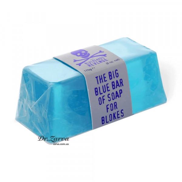 Мыло The Bluebeards Revenge BIG BLUE Bar Of Soap For Blokes 175 г