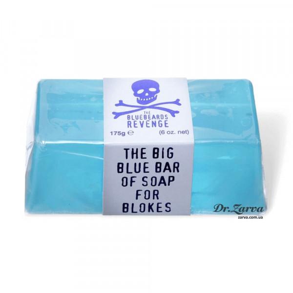 Мило The Bluebeards Revenge BIG BLUE Bar Of Soap For Blokes 175 г
