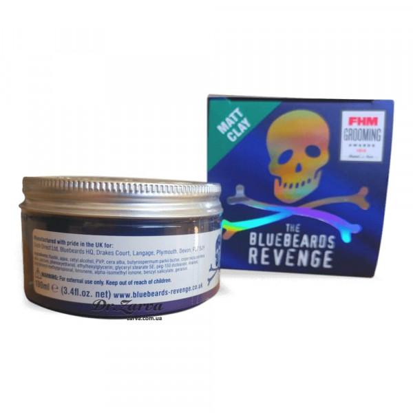 Глина для укладки волос The Bluebeards Revenge MATT CLAY 100 мл
