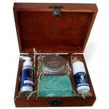 Набор для бритья и ухода за телом The Bluebeards Revenge в деревянной шкатулке