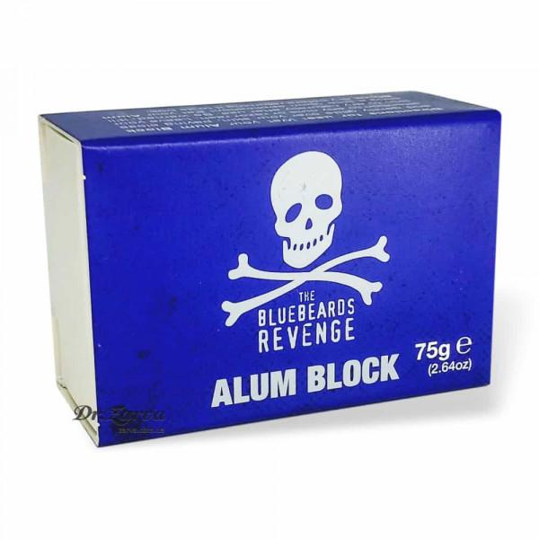 Квасец The Bluebeards Revenge натуральный камень от порезов (алунит) ALUM BLOCK 75 г