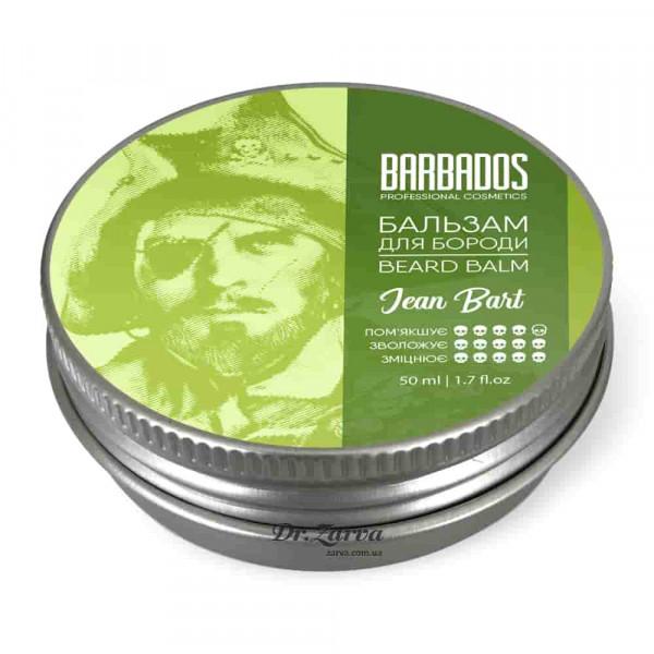 Бальзам для бороды Barbados Beard Balm JEAN BART 50 мл