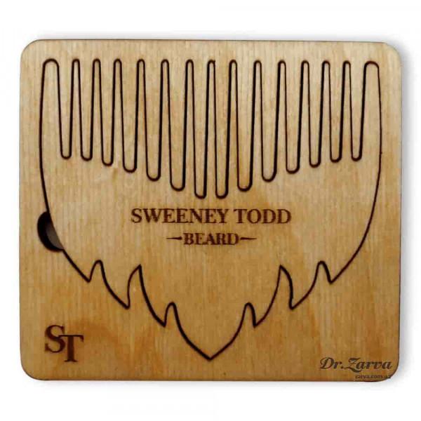 Гребень для бороды Barber Crew Sweeney Todd БОРОДА