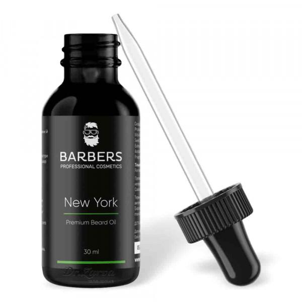 Масло для бороды Barbers Professional NEW YORK 30 мл