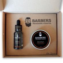 Набір по догляду за бородою Barbers Beard Set BROOKLYN
