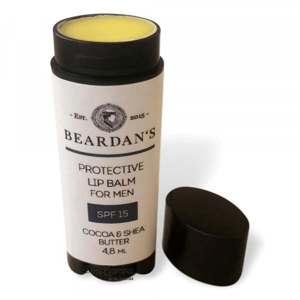 Защитный бальзам для губ Beardan's FOR MEN 4,8 мл