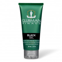 Гель-краска для волос (черная) Clubman Pinaud BLACK GEL 89 мл