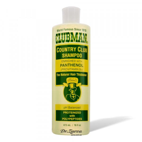 Шампунь Clubman COUNTRY CLUB Shampoo з провітаміном В5 473 мл